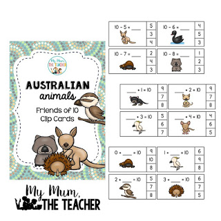 australian-animals-clip-cards-friends-of-ten-cover