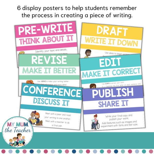 the-writing-process-posters-classroom-display