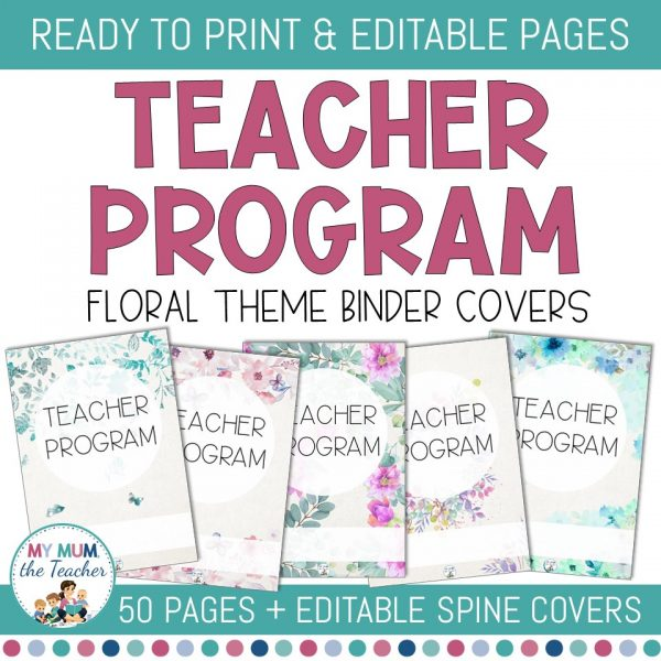 editable-binder-covers-floral-design-cover