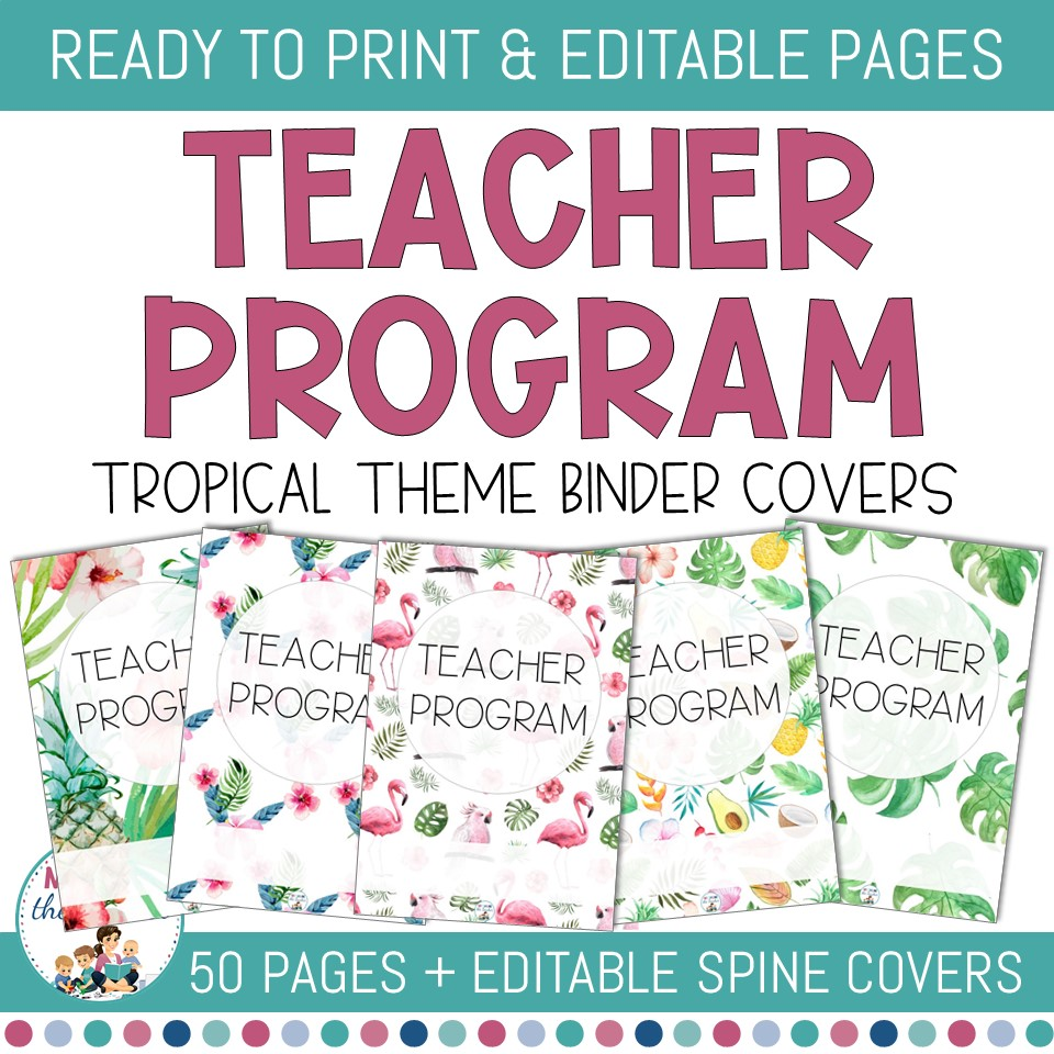 editable-binder-covers-tropical-cover