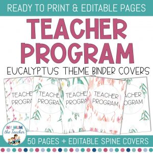editable-teacher-binder-covers-eucalyptus-design-cover