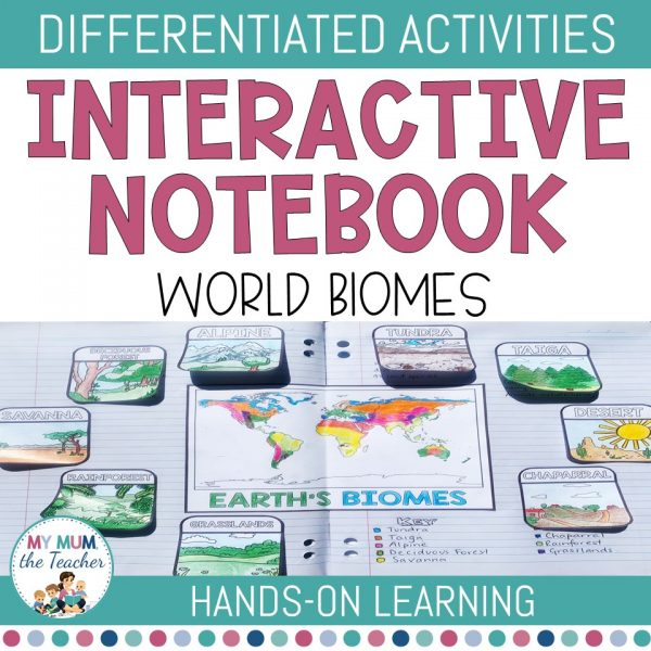 World-Biomes-Interactive-Notebook-cover