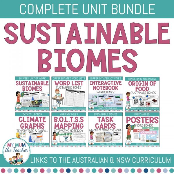 Sustainable-Biomes-Year-9-Geography-cover-bundle