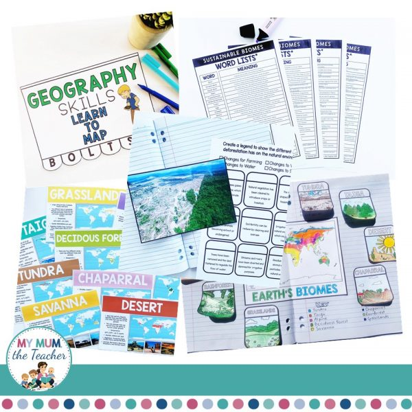 Sustainable-Biomes-Year-9-Geography-cover-bundle4