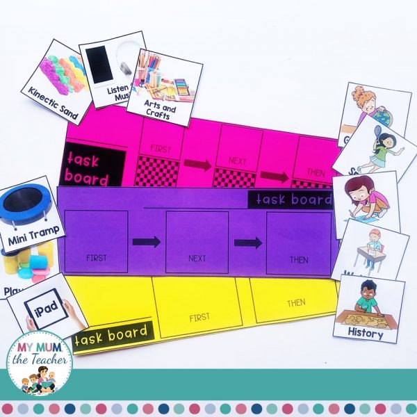 special-education-first-then-task-board-cards