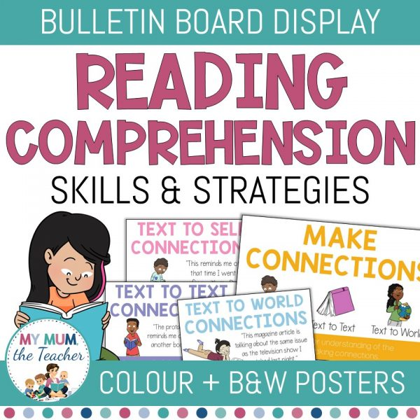 reading-comprehension-skills-and-strategies-poster-set