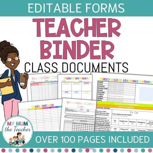 Editable-Teacher-Binder-Pages-Class-Documents