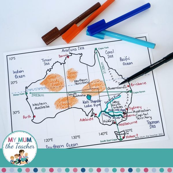 australia-map-geographical-skills
