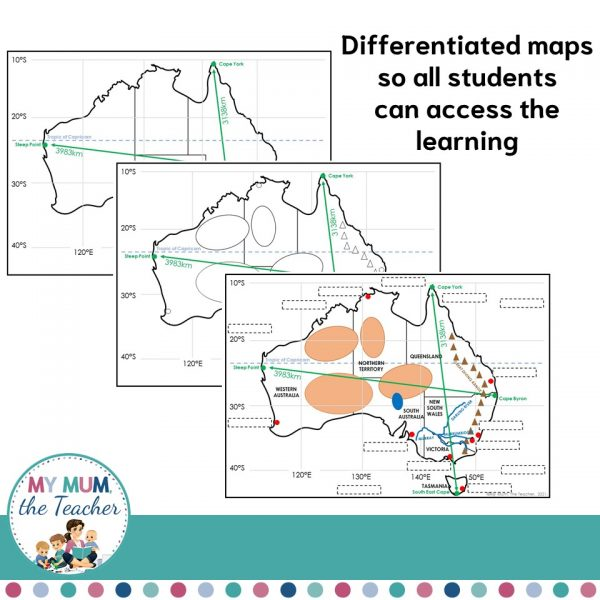 mapping-australia-differentiated-learning