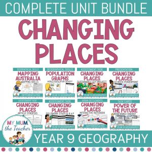 Changing-Places-urbanisation-year-9-geography-bundle